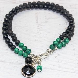 Empath Protection bracelet| Gemstone bracelet